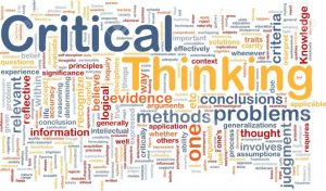 Critical thinking application papers level